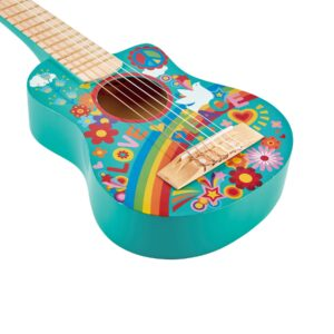 guitarra flower power-hape-3anos