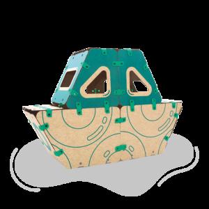 jugueteria online kit creatividad ikitoi 9 en 1 para armar - barco