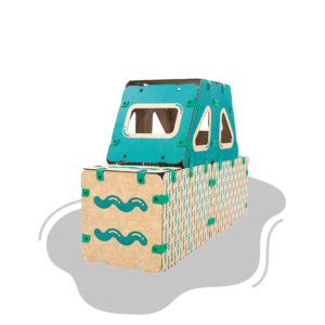 jugueteria online kit creatividad ikitoi 9 en 1 para armar - camion