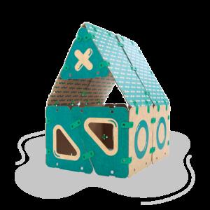 jugueteria online kit creatividad ikitoi 9 en 1 para armar - casa
