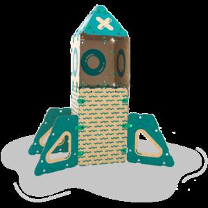 jugueteria online kit creatividad ikitoi 9 en 1 para armar - cohete