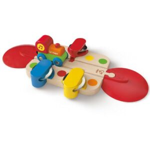 pista pandereta hape juguetes para 2 anos