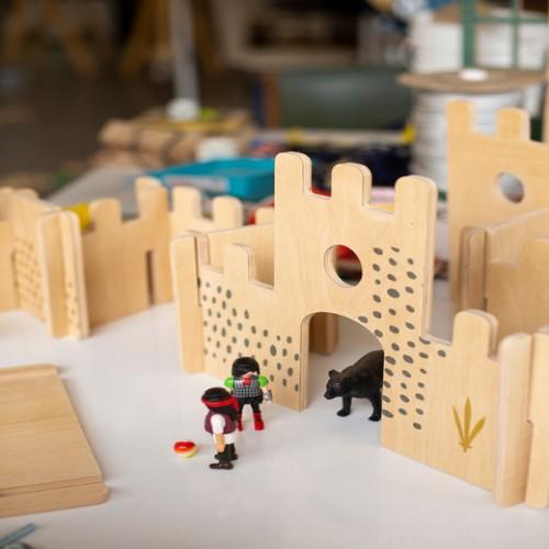 set-castillo-groenlandia juguete didactico