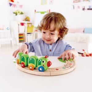 tren oruga hapee juguetes para 1 ano