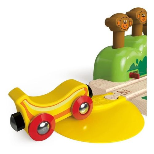 via de monos saltarines hape juguetes para 1 ano