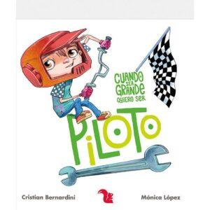 libro cuando sea grande quiero ser piloto
