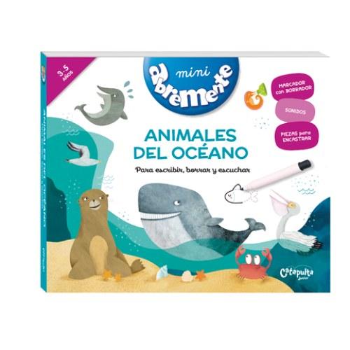 Abremente mini sonoros Animales del océano
