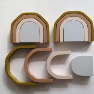 Arcoiris roma juguete didactico