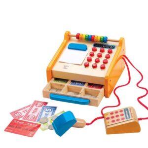 Caja registradora de juguete hape
