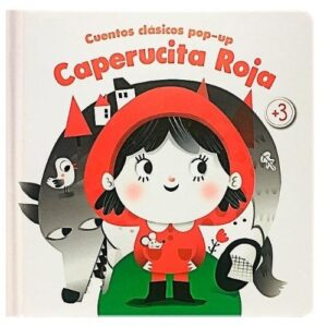 Cuentos clásicos pop-up Caperucita roja