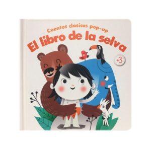 Cuentos clásicos pop-up El libro de la selva