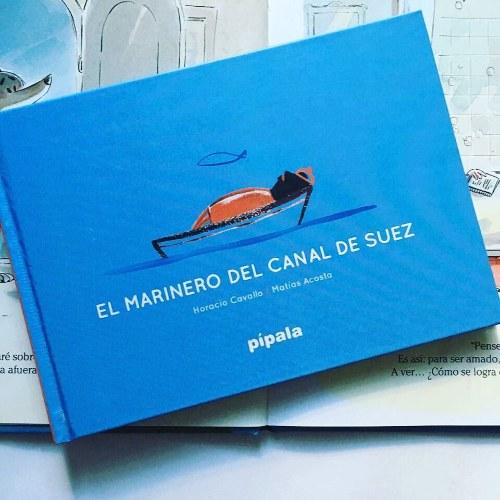 El marinero del Canal de Suez libro pipala