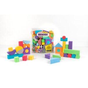 Juego de 55 Bloques apilables y encastrables - juguetes para bebes