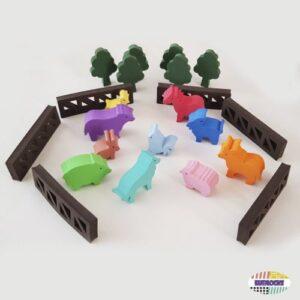 Juego de la granja - juguetes para bebes