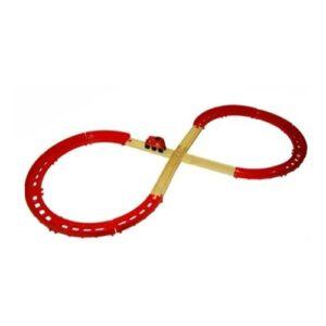 Kit avanzado rojo Trencity - juguete didactico