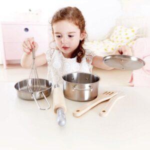 Set de cocina de chef juguete didactico