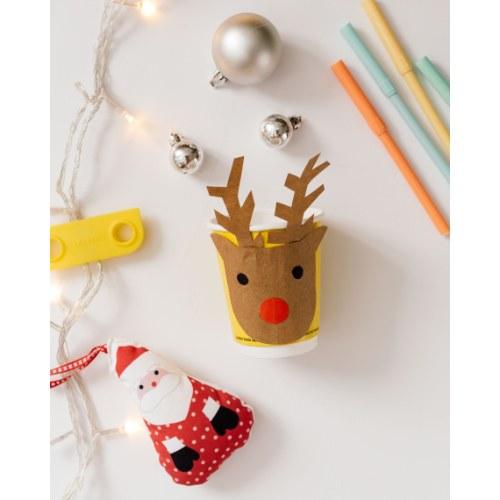 actividades para ninos reno de navidad