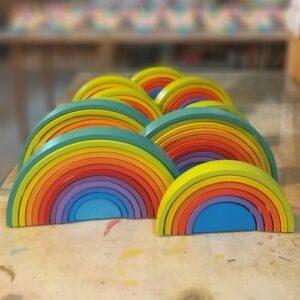 arcoiris 12 arcos ancho pampa juguete didactico montessori
