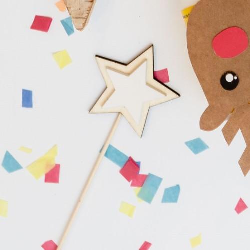 decoracion navidena estrella