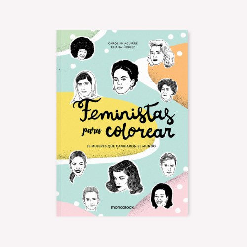 feministas-para-colorear libro