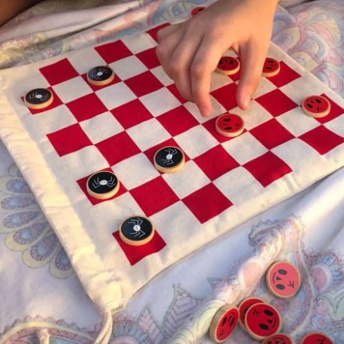 juego de damas vampicomida juego didactico