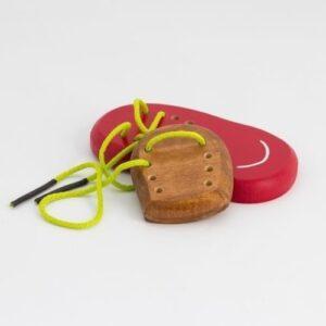 zapatilla manick juguete didactico