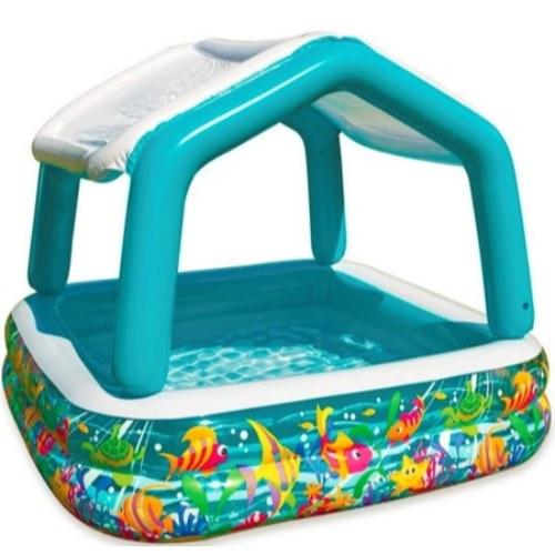 pileta piscina inflable con techo desmontable